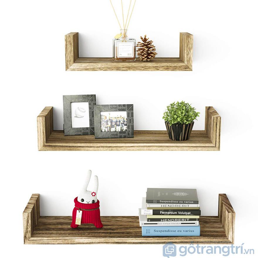 kệ gỗ 3 tầng