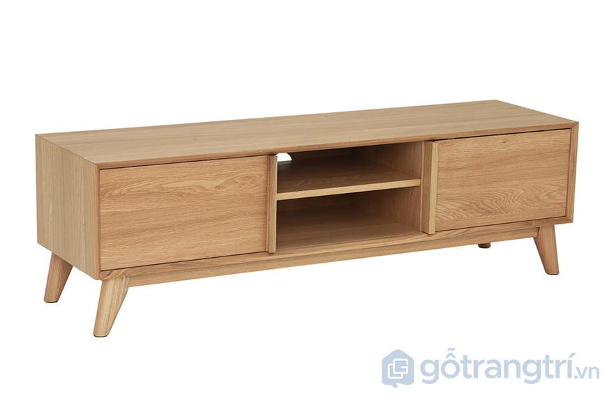 kệ tivi gỗ sồi nga 2m
