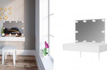 Kệ trang điểm treo tường - Giải pháp thông minh cho phòng nhỏ