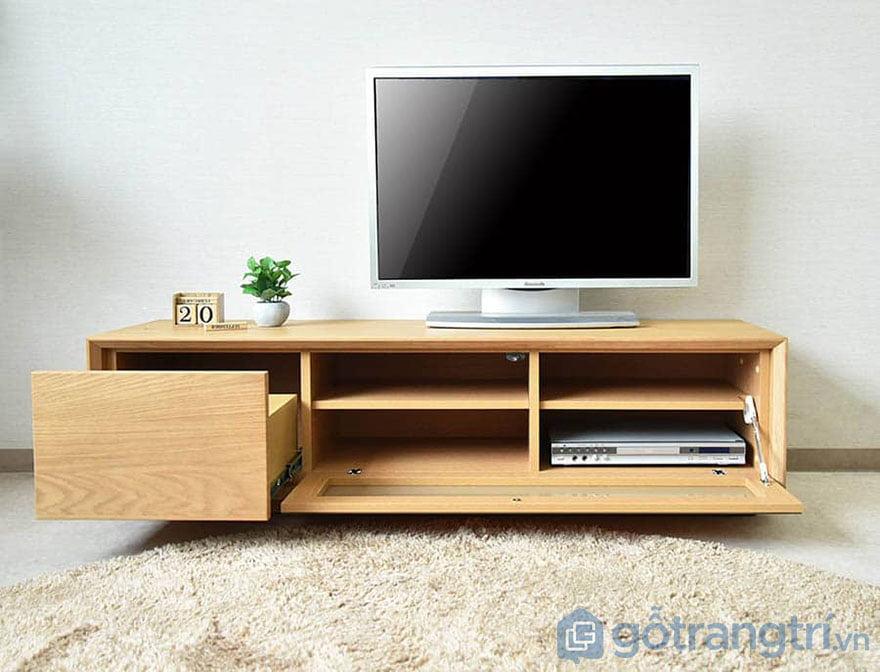 mẫu kệ gỗ tivi