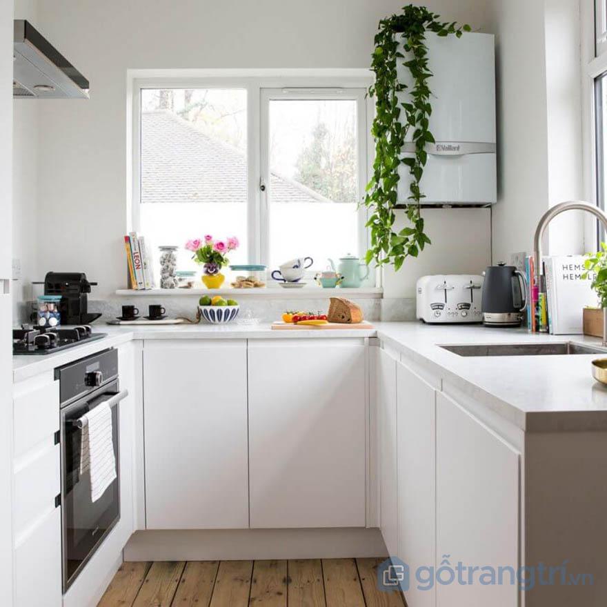 mẫu nhà bếp nhỏ gọn đẹp đơn giản
