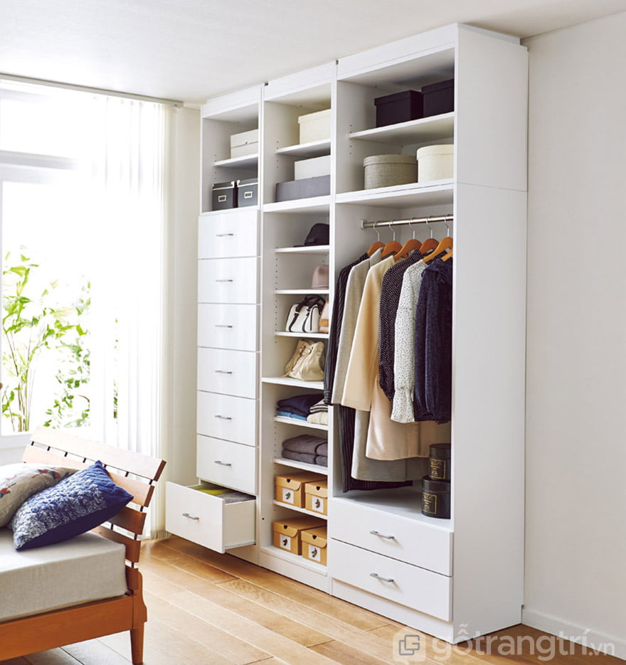 mẫu tủ quần áo 3 buồng đẹp