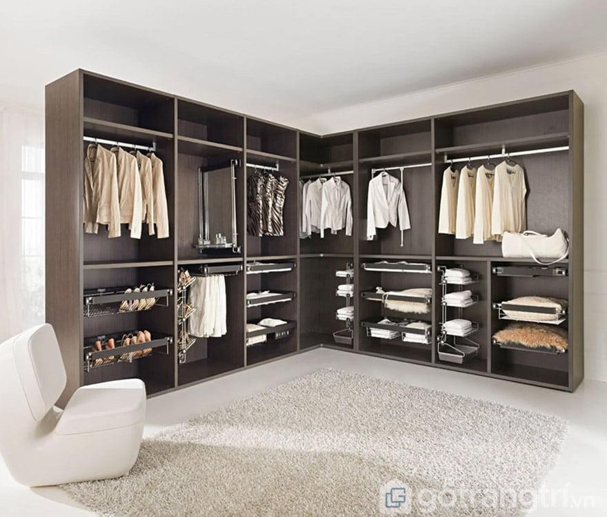 mẫu tủ quần áo 6 buồng