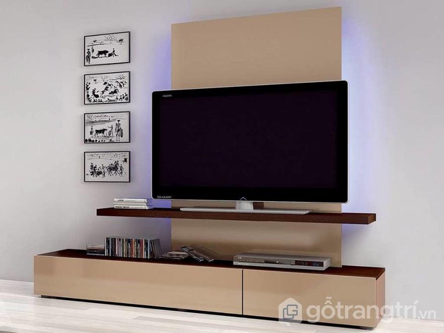 mẫu tủ tivi phòng khách