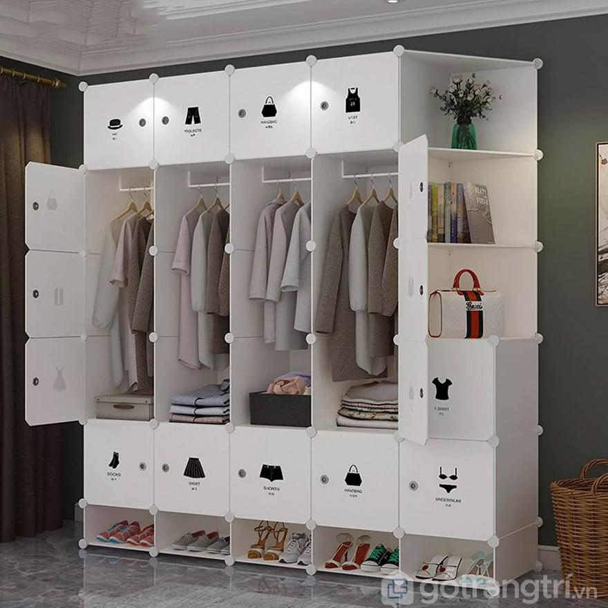 mua tủ quần áo nhựa