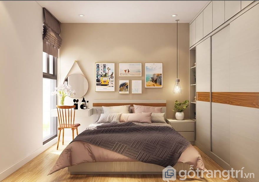 Thiết kế phòng ngủ 15m2 đẹp