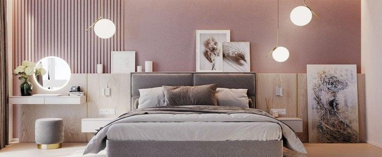 Thiết kế phòng ngủ kiểu Hàn