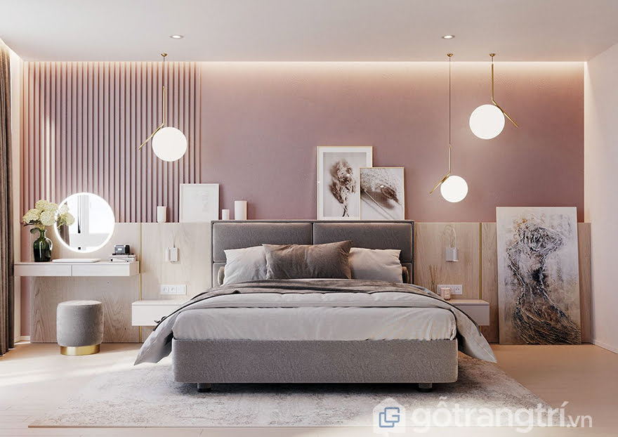 Không gian phòng ngủ kiểu Hàn đẹp mê ly