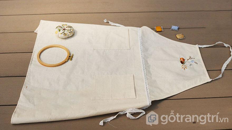tạp dề kiểu Nhật