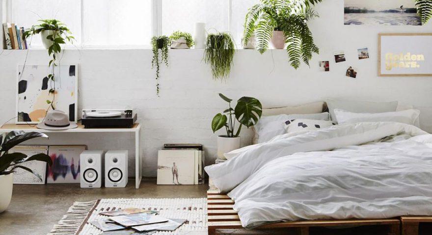 Thiết kế phòng ngủ nhỏ không cần giường