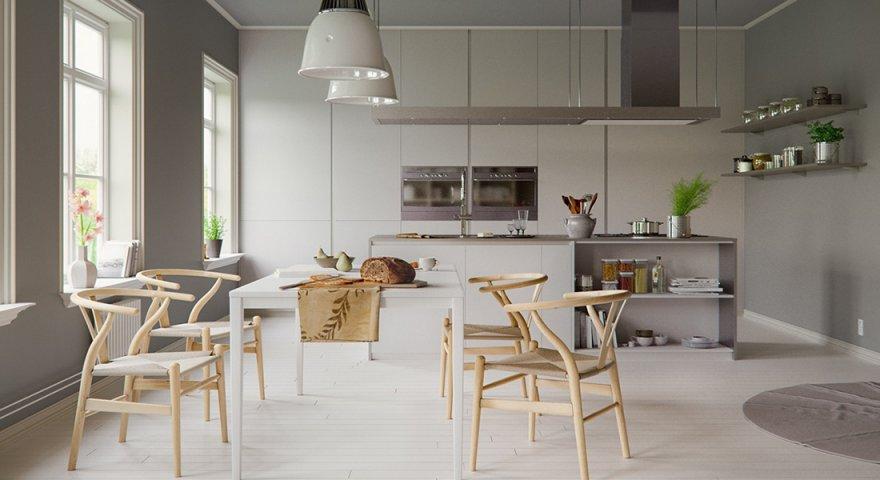 Trang trí phòng ăn và bếp
