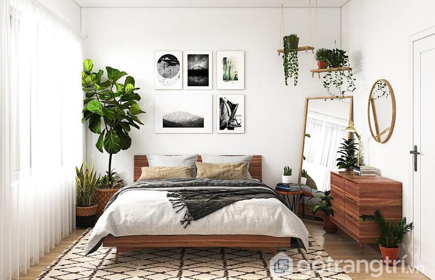 Trang trí phòng ngủ bình dân