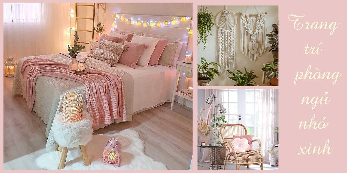 Trang trí phòng ngủ nhỏ cho nữ