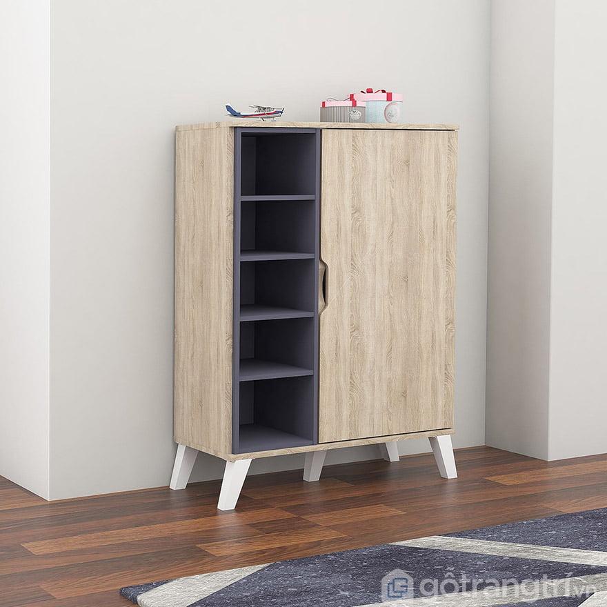 tủ đựng giày dép bằng gỗ ép