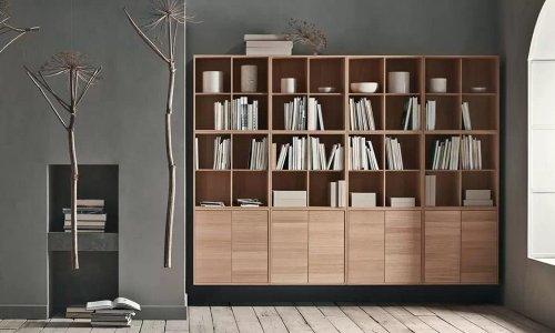 tủ đựng sách bằng gỗ