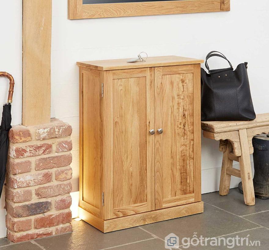 tủ giày gỗ tự nhiên tp hcm
