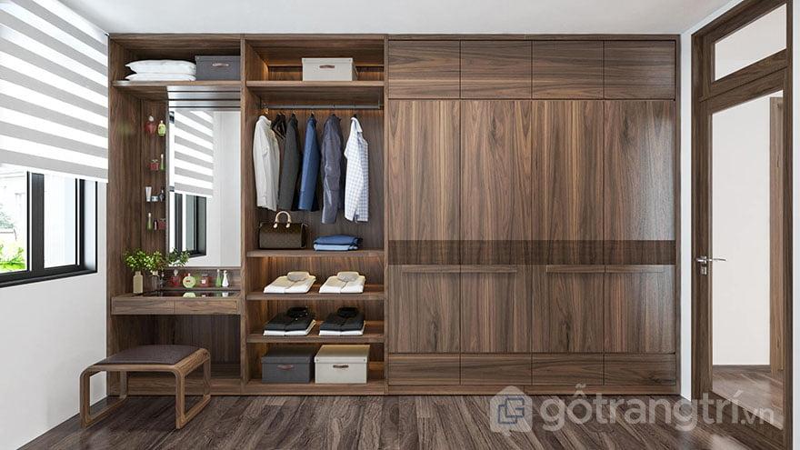 tủ gỗ đựng quần áo đà nẵng