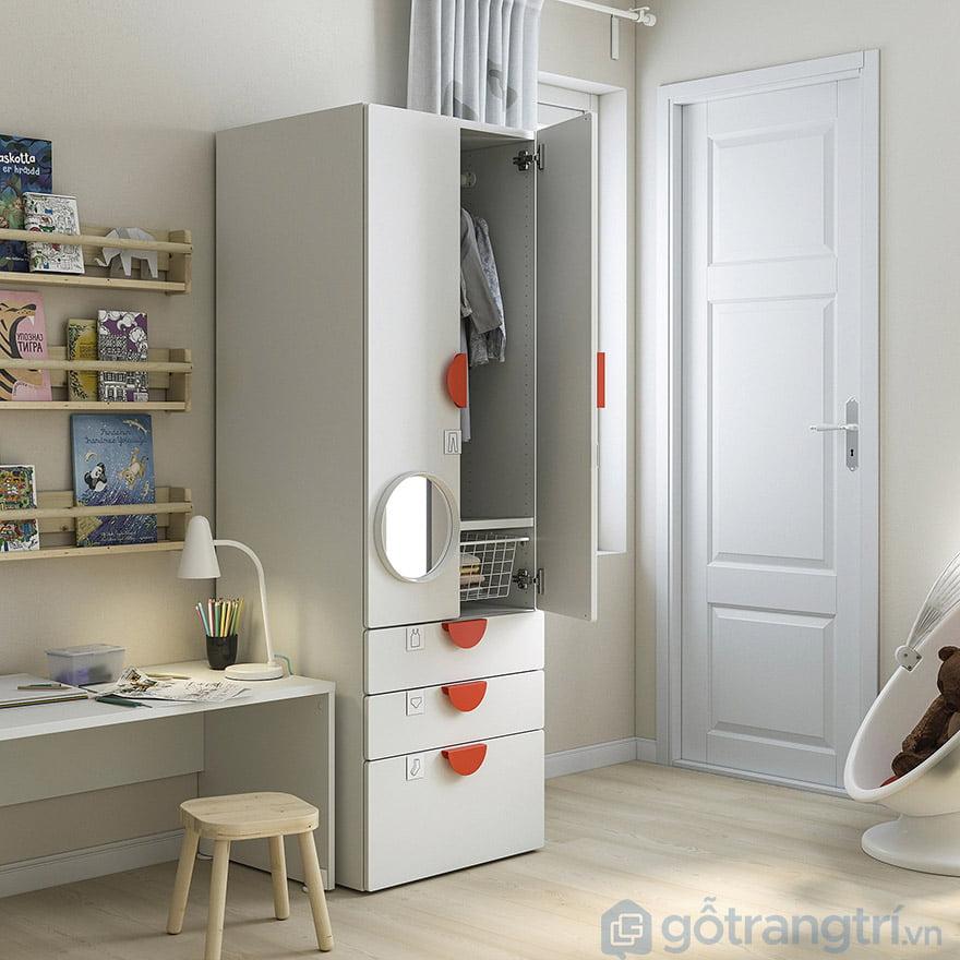 tủ quần áo 2 buồng