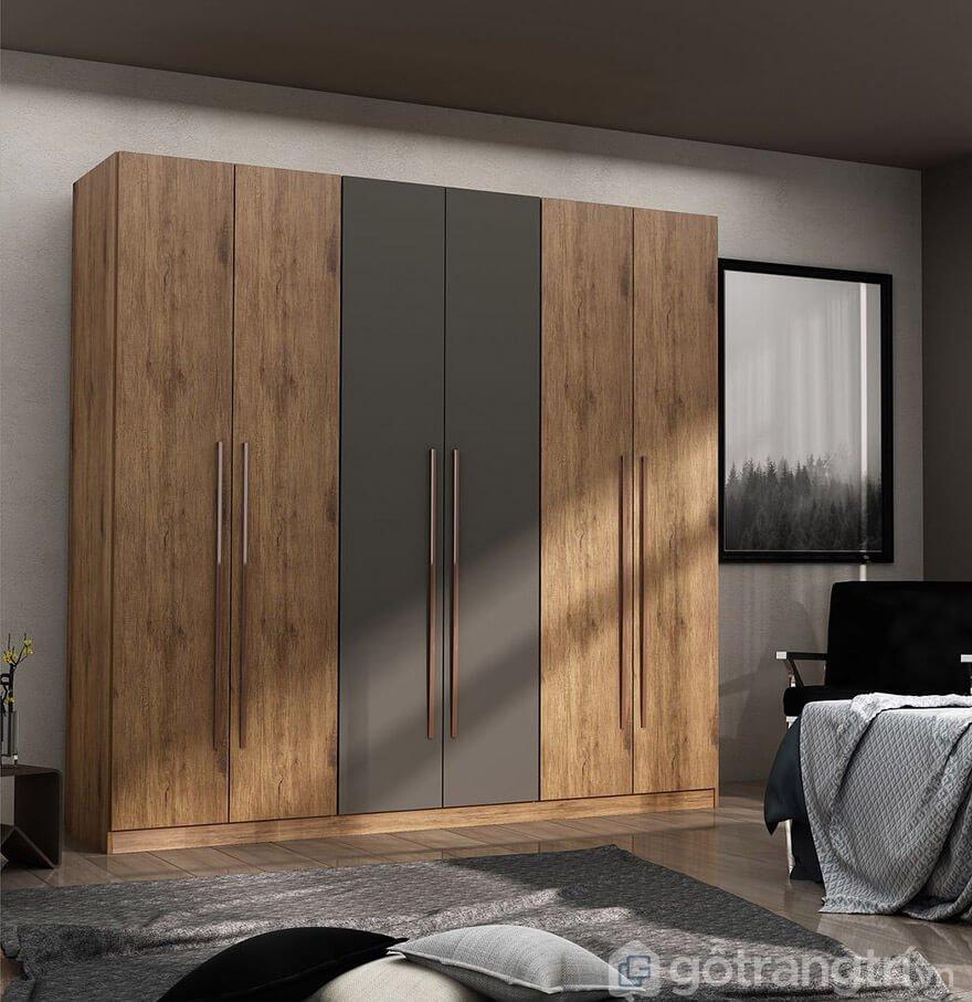 tủ quần áo gỗ ép giá rẻ TPHCM