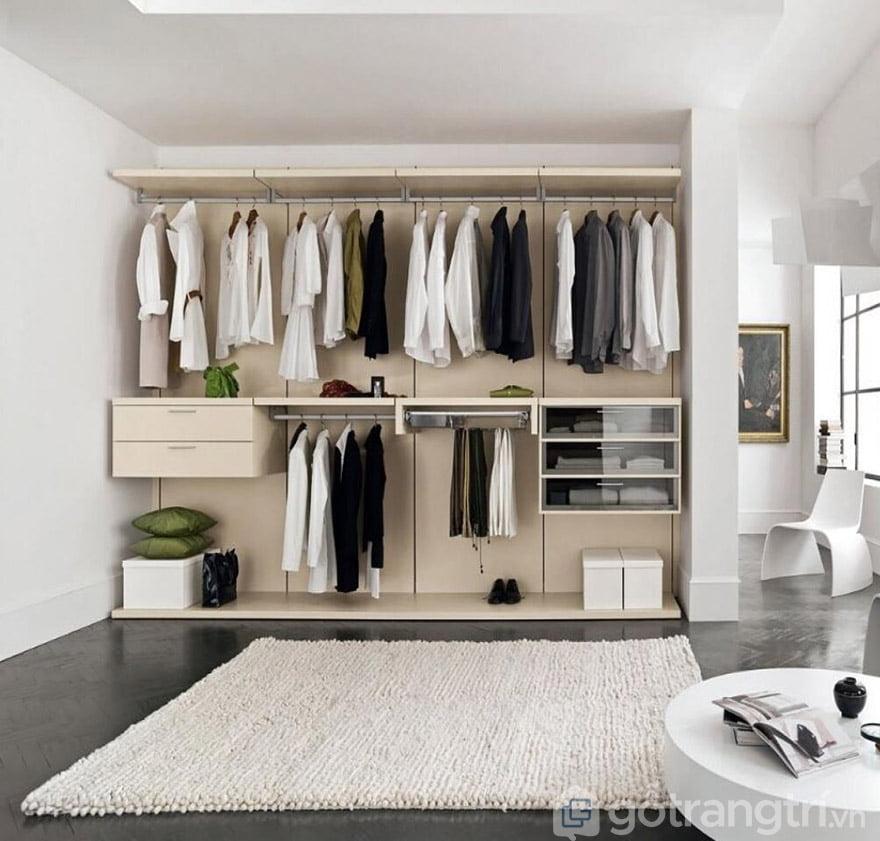 tủ quần áo không cánh