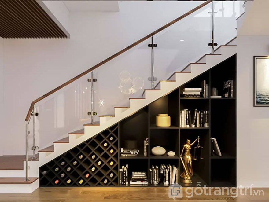 các mẫu tủ gầm cầu thang