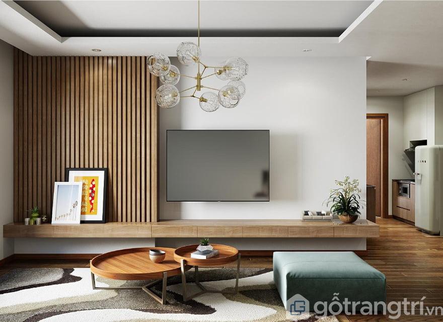 Những mẫu kệ tivi phòng khách chung cư