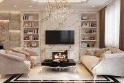 nội thất tân cổ điển phòng khách
