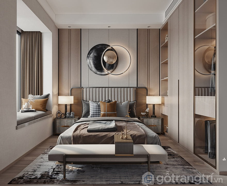 phòng ngủ tân cổ điển