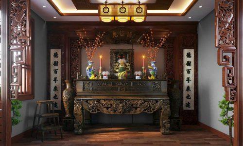 bàn thờ nhà chung cư